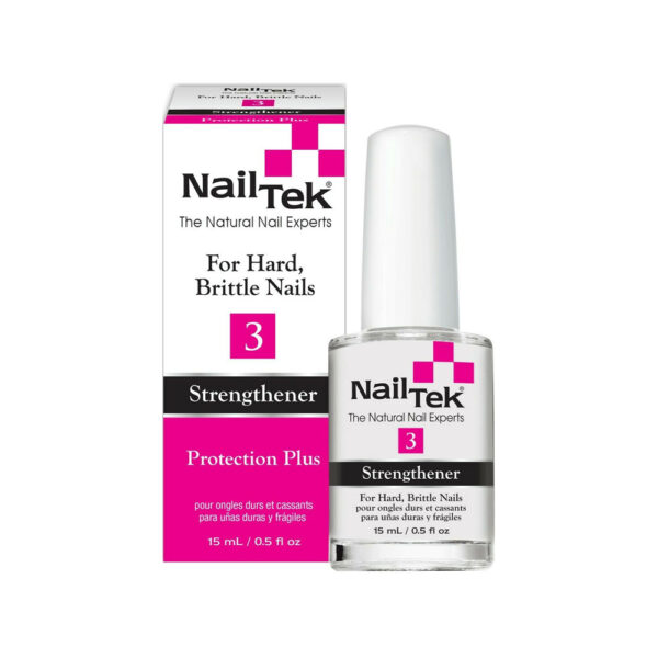Nail Tek Protection Plus 3 - Strengthener for Hard and Brittle Nails